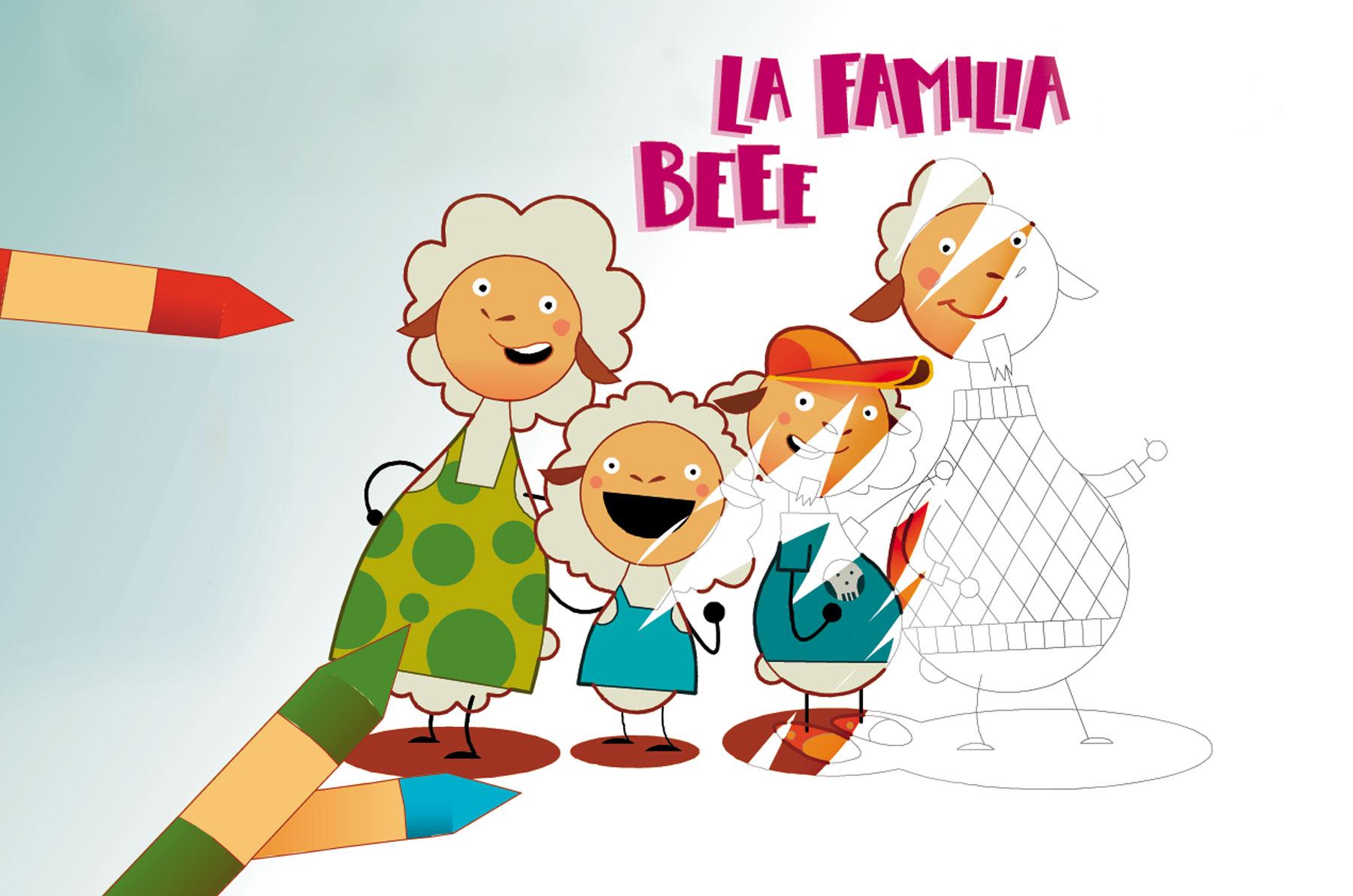 familia-bee-pintar